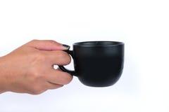 рука кофейной чашки Стоковое Фото