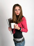 рука кофе Стоковое Фото