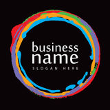 Логос handmade Стоковые Изображения