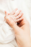 рука младенца Стоковое фото RF
