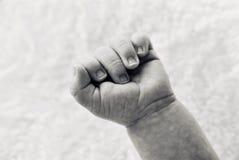 рука младенцев Стоковое Изображение