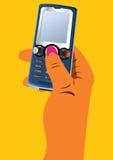 рука мобильного телефона Стоковое Изображение RF