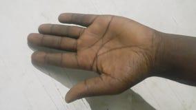 Рука мужчины левая Стоковое Фото
