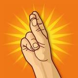 Рука, музыка и щелчок Стоковое фото RF
