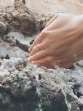 Рука мытья Стоковое фото RF