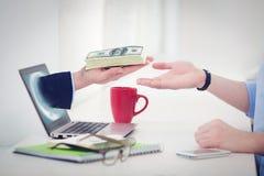 Рука независимых бизнесменов Стоковое Фото