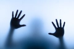 Рука нерезкости Стоковое Фото