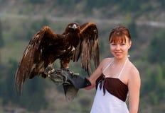 рука орла Стоковые Изображения