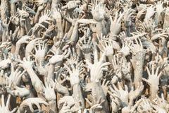 рука от страдания ада Стоковое фото RF