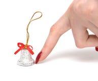 рука перста колокола Стоковые Фотографии RF