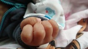 рука перста младенца Стоковые Фотографии RF