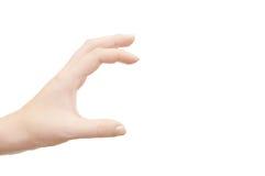 рука перстов Стоковые Изображения RF