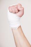рука повязки Стоковое фото RF