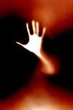 рука пожара Стоковое Изображение