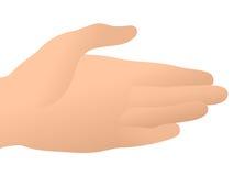 рука помогая вне достигнуто Стоковые Изображения RF