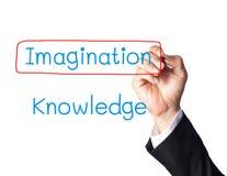рука принципиальной схемы бизнесмена формулирует сочинительство Стоковые Изображения RF