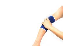 Рука при изолированная поддержка локтя Стоковая Фотография RF