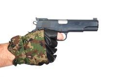 рука пушки Стоковые Фотографии RF