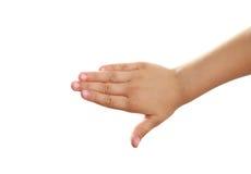 Рука ребенка стоковые фото