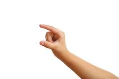 Рука ребенка стоковая фотография