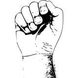 рука сильная стоковая фотография rf