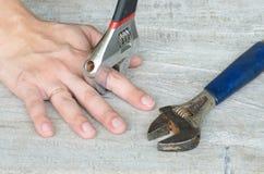Рука собрания стоковое изображение rf