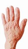 рука старая Стоковые Фото