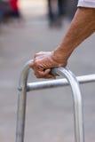 Рука старика Стоковое Фото