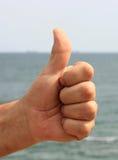 Рука с большим пальцем руки вверх Стоковое фото RF