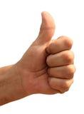 Рука с большим пальцем руки вверх Стоковое Изображение