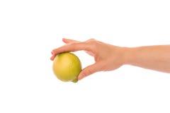 Рука с лимоном Стоковая Фотография RF