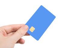 Рука с кредитной карточкой Стоковое Изображение RF