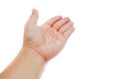 Рука с положительным знаком. Стоковое фото RF