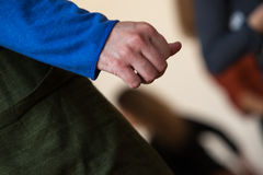 Рука танца стоковое фото