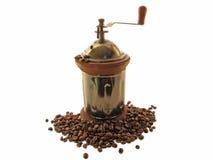 рука точильщика зерен кофе старая Стоковая Фотография RF