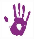 Рука человека. Вектор Стоковые Изображения