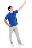 Рука человека вверх Стоковые Изображения RF