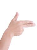 Рука человека. Стоковые Изображения