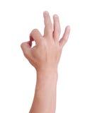 Рука человека. Стоковые Фото