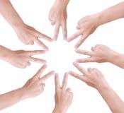 Рука человека. Стоковое Изображение RF