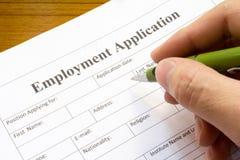 Применение занятости Стоковые Изображения RF