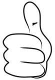рука шаржа Стоковые Фотографии RF