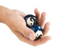рука шарика Стоковое Фото