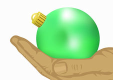 рука шарика иллюстрация вектора