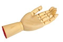 рука деревянная Стоковые Фото