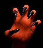 рука дьявола Стоковые Изображения RF