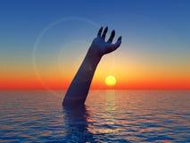 Рука 14 Waterscape стоковые изображения rf