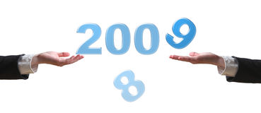 рука 2009 Стоковое Фото