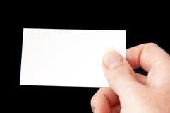 рука 4 карточек Стоковая Фотография RF