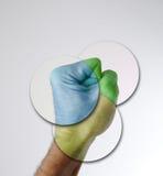 рука 4 стоковое изображение rf